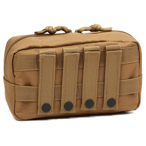 Orca Tactical MOLLE EDC Admin Utility Pouch - COYOTE