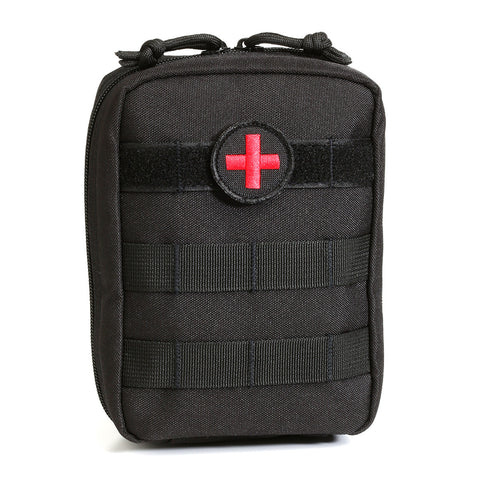 Orca Tactical MOLLE EMT Medical First Aid Pouch - BLACK