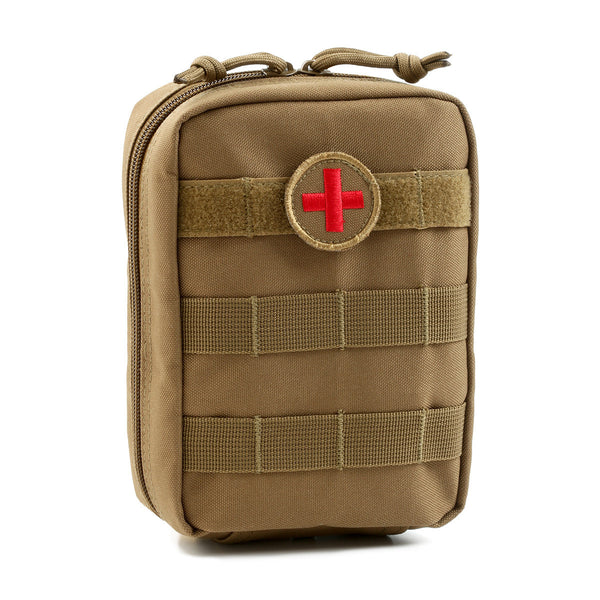 MOLLE EMT Medical First Aid Utility Pouch - Coyote