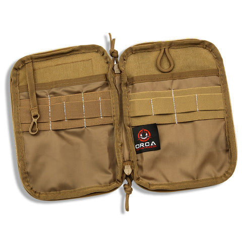 Orca Tactical MOLLE Gadget EDC Utility Pouch, COYOTE
