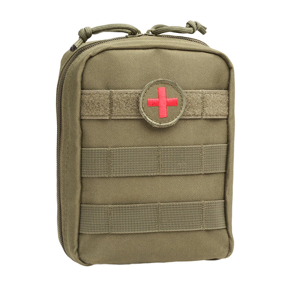 Orca Tactical MOLLE EMT Medical First Aid Pouch - OD GREEN
