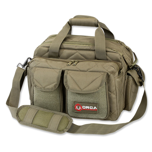 Orca Tactical Gun and Ammo Shooting Range Duffel Bag - OD GREEN