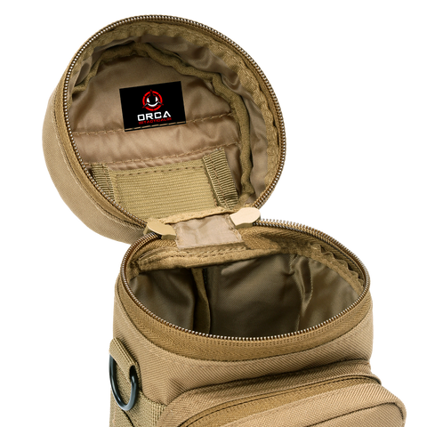 Orca Tactical MOLLE H2O Water Bottle Pouch - Multicam