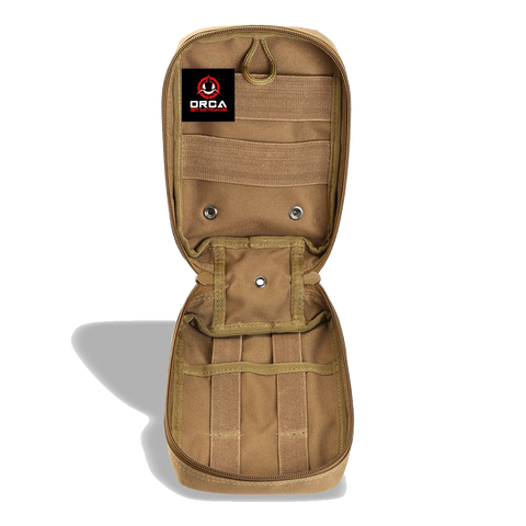 Orca Tactical MOLLE EMT Medical First Aid Pouch - CAMO