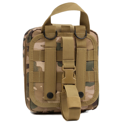 Orca Tactical MOLLE Rip-Away EMT Medical First Aid Pouch - MULTICAM