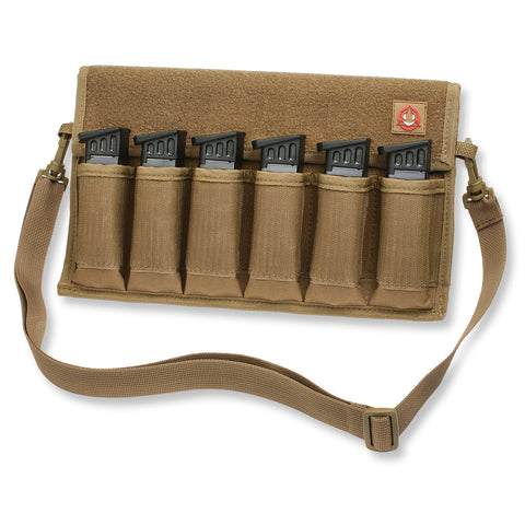 Orca Tactical Single and Double Stack Pistol Magazine Pouch, BLACK