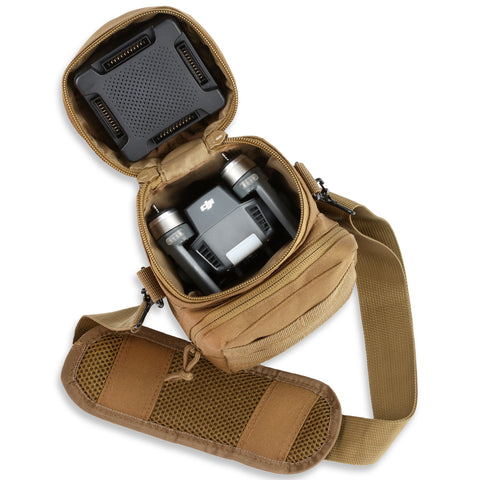 Orca Tactical MOLLE H2O Water Bottle Pouch - Coyote