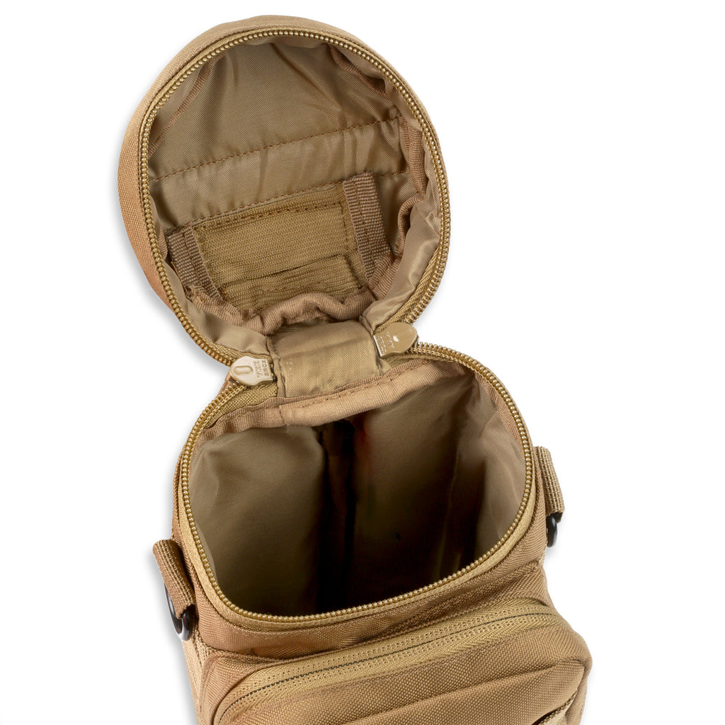 COYOTE TACTICAL MOLLE AQUA BLADDER POUCH WITH 1.5 LITRE HYDRATION BLADDER