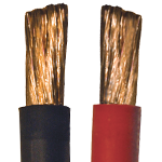 1/0 QuickFlex Copper Cable, 100 ft roll
