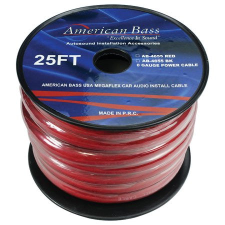 1/0 AWG CCA Power Wire, 25 feet
