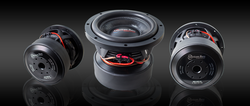 "HD-10D1  10"" Subwoofer, Dual 1 Ohm"