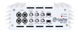 MRE-160.4 Marine Class AB Multi-Channel Amplifier