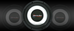 "SL-104  10"" Shallow Mount Subwoofer, SVC 4 Ohm"
