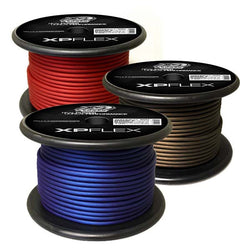 XP FLEX 8 AWG Cable, Multiple Colours, 250' Spool