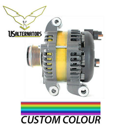 Custom Alternator Color 2.5:  Premium paint on stator windings – includes ColorMatch
