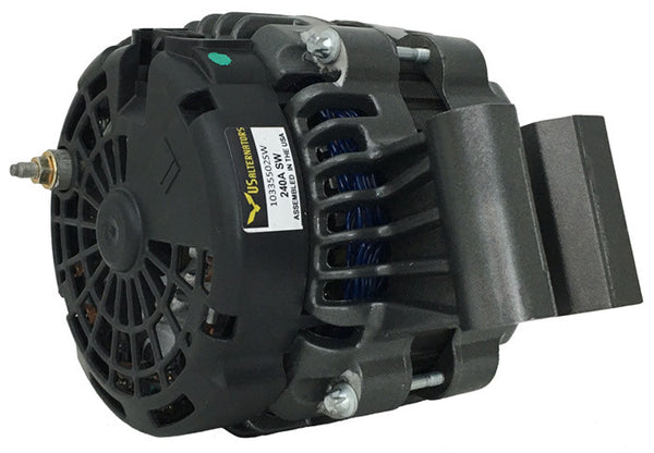 "240A HOT ""285A"" SLOT-WOUND ALTERNATOR (select GM and Ford vehicles)"