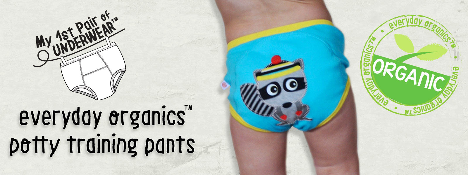 ZOOCCHINI organic potty training pants