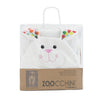 ZOOCCHINI Kids Plush Terry Hooded Bath Towel - Bella the Bunny-4