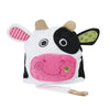 ZOOCCHINI Kids Plush Terry Hooded Bath Towel - Casey the Cow-4