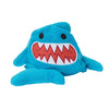 ZOOCCHINI Kids Plush Terry Hooded Bath Towel - Sherman the Shark-4