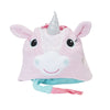 ZOOCCHINI Kids Plush Terry Hooded Bath Towel - Allie the Alicorn-6