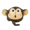 ZOOCCHINI Kids Plush Terry Hooded Bath Towel - Chippy the Chimp-4
