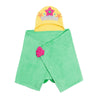 ZOOCCHINI Kids Plush Terry Hooded Bath Towel - Marietta the Mermaid-3