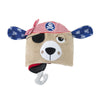 ZOOCCHINI Kids Plush Terry Hooded Bath Towel - Pedro the Pirate Dog-7