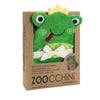 ZOOCCHINI Baby Snow Terry Hooded Bath Towel - Flippy the Frog-3