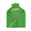 ZOOCCHINI Baby Snow Terry Hooded Bath Towel - Flippy the Frog-2