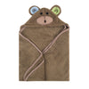ZOOCCHINI Baby Snow Terry Hooded Bath Towel - Max the Monkey-3