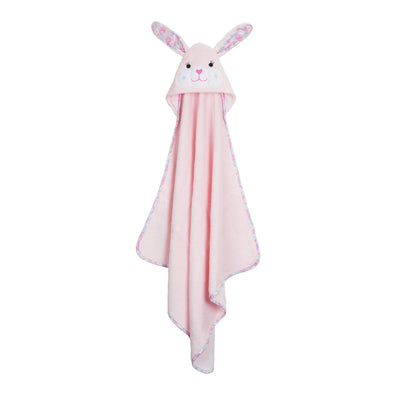 ZOOCCHINI Baby Snow Terry Hooded Bath Towel - Beatrice the Bunny-4