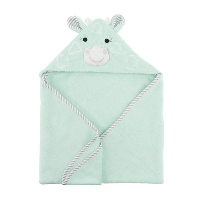 ZOOCCHINI Baby Snow Terry Hooded Bath Towel - Jaime the Giraffe-3