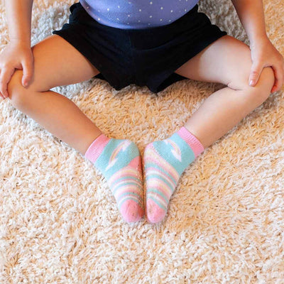 ZOOCCHINI 3 Piece Comfort Terry Socks Set - Allie the Alicorn