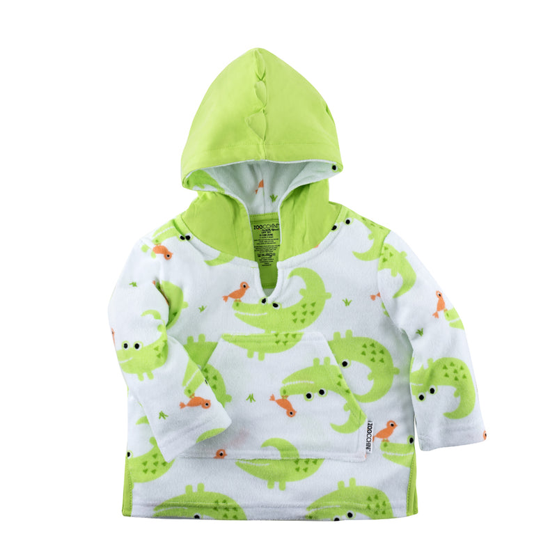 ZOOCCHINI UPF50+ Swim Coverup - Aidan the Alligator