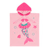 ZOOCCHINI UPF50+ Kids Hooded Poncho - Marietta the Mermaid
