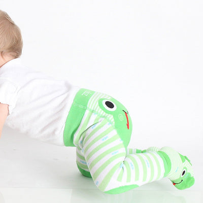 ZOOCCHINI grip+easy™ Comfort Crawler Legging & Socks Set - Flippy the Frog-3