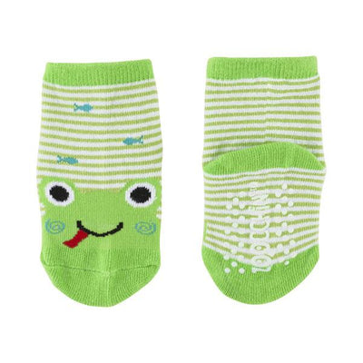 ZOOCCHINI grip+easy™ Comfort Crawler Legging & Socks Set - Flippy the Frog-6