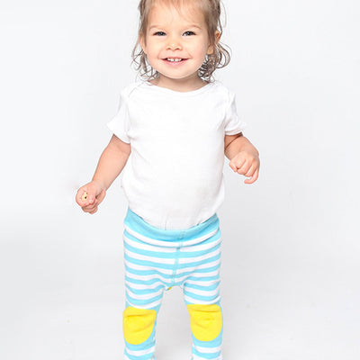 ZOOCCHINI grip+easy'Ñ¢ Comfort Crawler Legging & Socks Set - Puddles the Duck-2