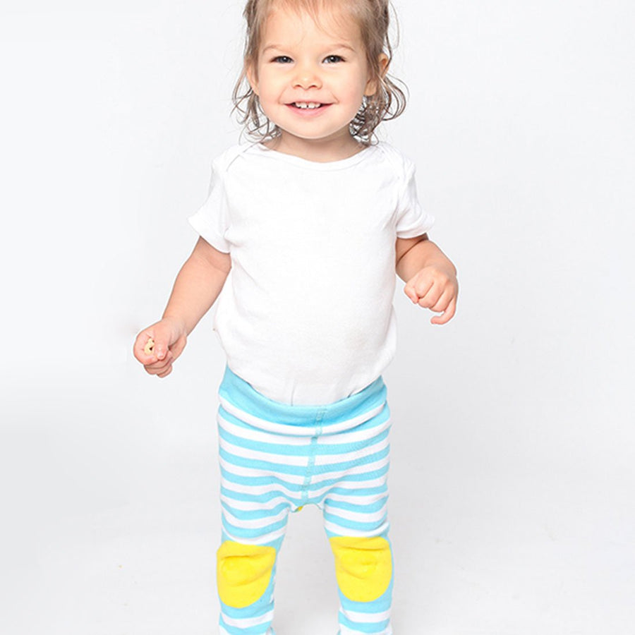 ZOOCCHINI grip+easy™ Comfort Crawler Legging & Socks Set - Puddles the Duck