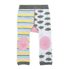 ZOOCCHINI grip+easy™ Comfort Crawler Legging & Socks Set - Allie the Alicorn-5
