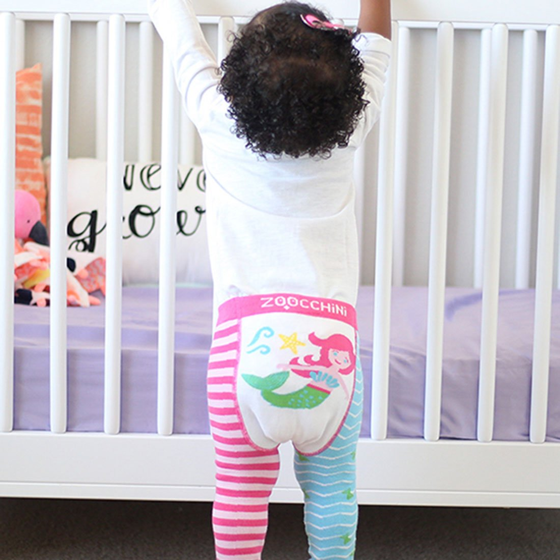 ZOOCCHINI grip+easy™ Comfort Crawler Legging & Socks Set - Marietta the Mermaid-1