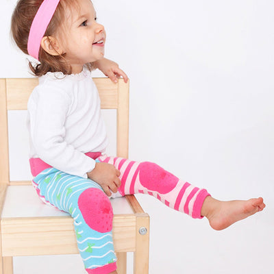 ZOOCCHINI grip+easy™ Comfort Crawler Legging & Socks Set - Marietta the Mermaid-2