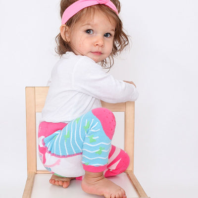 ZOOCCHINI grip+easy™ Comfort Crawler Legging & Socks Set - Marietta the Mermaid-3