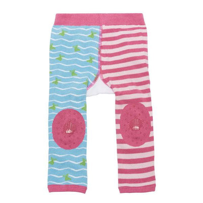 ZOOCCHINI grip+easy™ Comfort Crawler Legging & Socks Set - Marietta the Mermaid-5