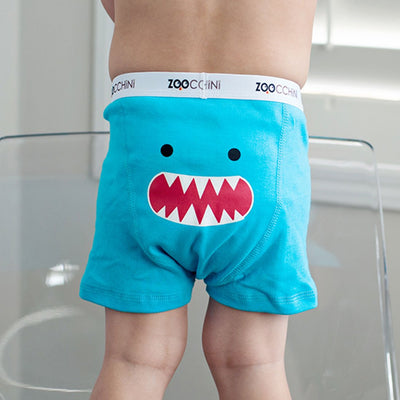 ZOOCCHINI Boys 3 Piece Organic Boxers Set - Monster Mash-2
