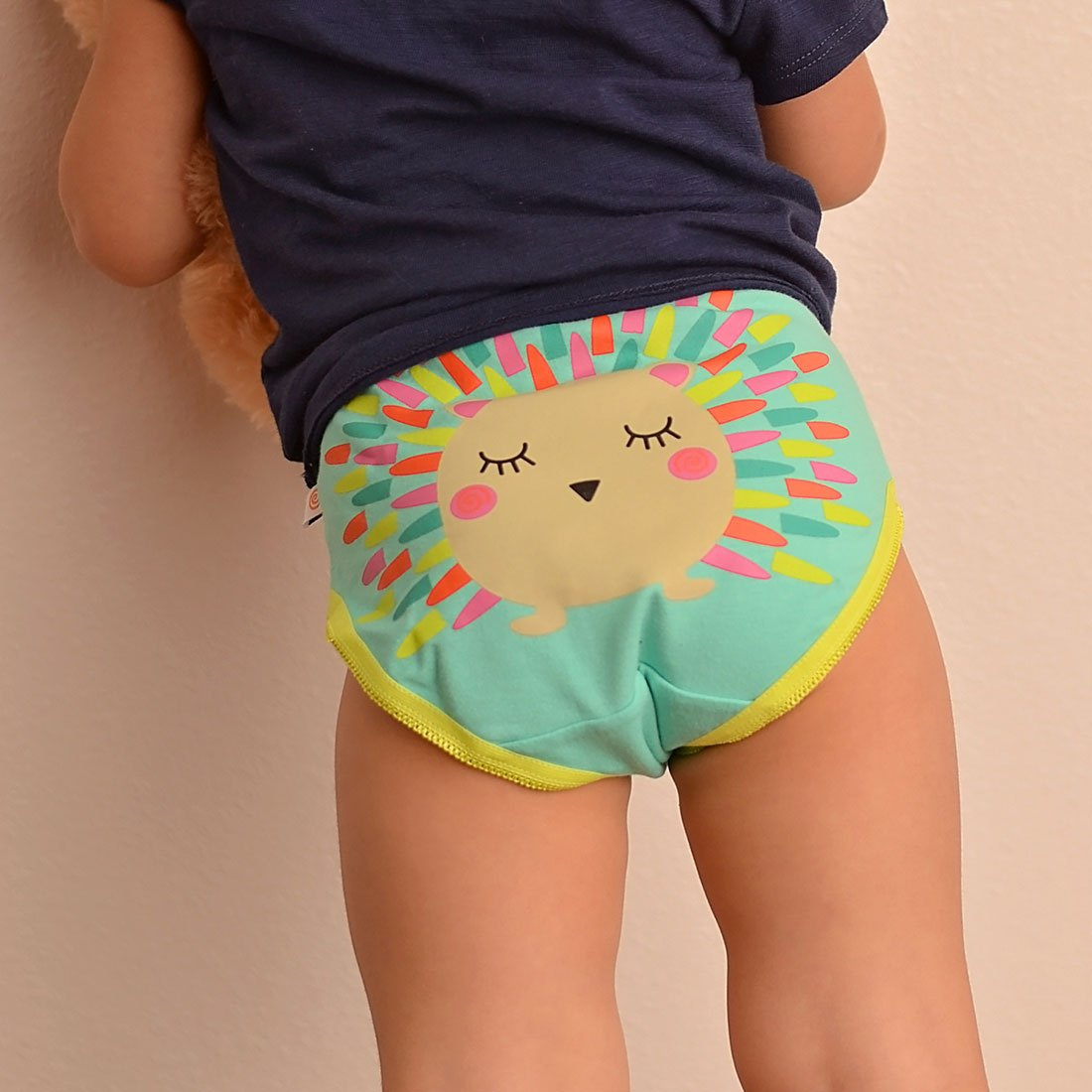 Girls in panties picts Toddler Kids Gots Organic Girls Panty Sets Zoocchini Enchanted Forest