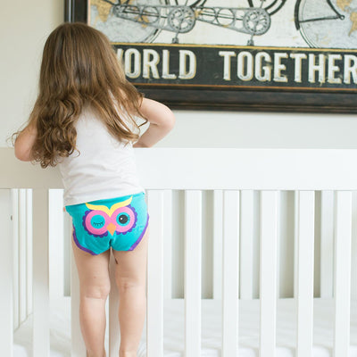 ZOOCCHINI Girls 3 Piece Organic Panty Set - Calypso Multi-1