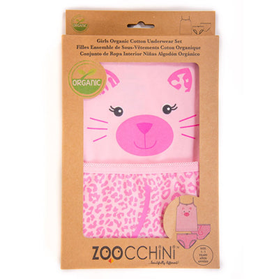 ZOOCCHINI Girls 2 Piece Organic Cami/Panty Set - Kallie the Kitten-4