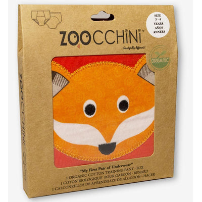 ZOOCCHINI 1 Piece Organic Potty Training Pant - Finley the Fox-2